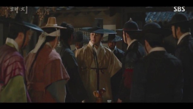 2019 4 2 Jung Il-woo in Haechi Episode 16 (31-32) Cr. SBS 49
