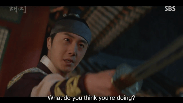 2019 4 2 Jung Il-woo in Haechi Episode 16 (31-32) Cr. SBS 5