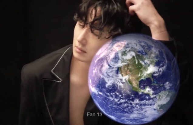 Jung Il-woo and Planet Earth. Edited by Fan 13 for Earth Day 2019. 3