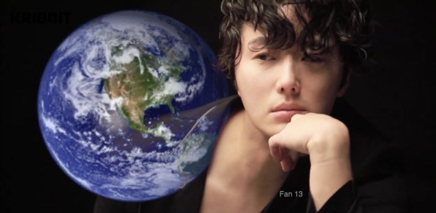 Jung Il-woo and Planet Earth. Edited by Fan 13 for Earth Day 2019. 4