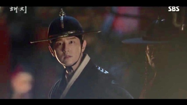 Jung Il-woo in Haechi Episode 18 (35-36) Cr. SBS. 10