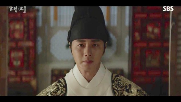 Jung Il-woo in Haechi Episode 18 (35-36) Cr. SBS. 24