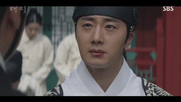 Jung Il-woo in Haechi Episode 18 (35-36) Cr. SBS. 31