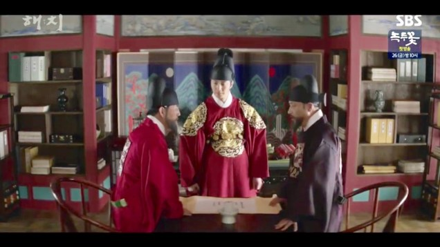Jung Il-woo in Haechi Episode 19 (37-38) Cr. SBS. 9