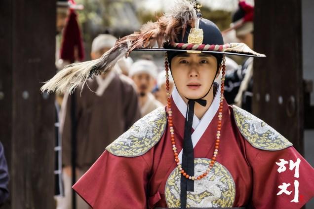 Jung Il-woo in Haechi Episode 19 (37-38) Website & BTS Photos. Cr. SBS. 4