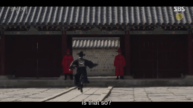 Jung Il-woo in Haechi Episode 20 (39-40) Cr. SBS 28