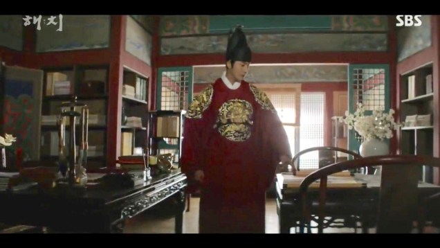 Jung Il-woo in Haechi Episode 20 (39-40) Cr. SBS 42