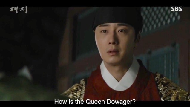 Jung Il-woo in Haechi Episode 20 (39-40) Cr. SBS 7