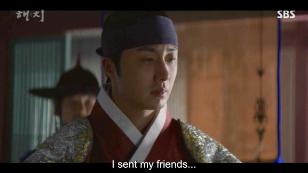 Jung Il-woo in Haechi Episode 21 (41-42) Cr. SBS. 37