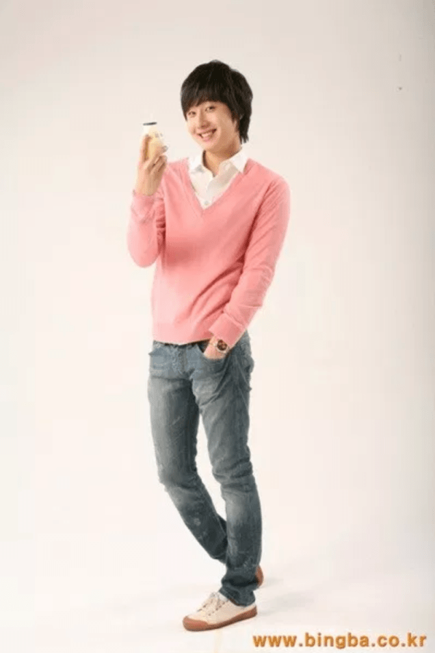2007 Jung Il-woo for Banana Milk. 4