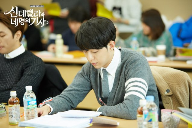 2016 02 08 Cinderella and the Four Knights: Script Reading. 6