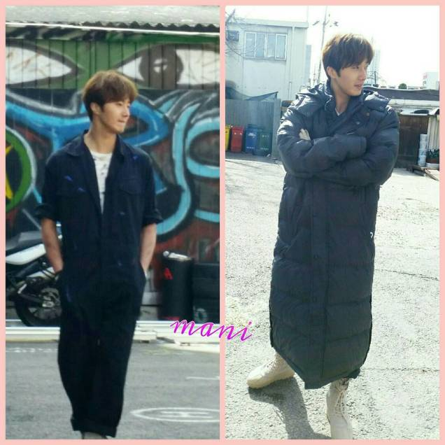 2016 Jung Il-woo in Cinderella and the Four Knights. Behind the Scenes. Extras. Cr. tvN 6