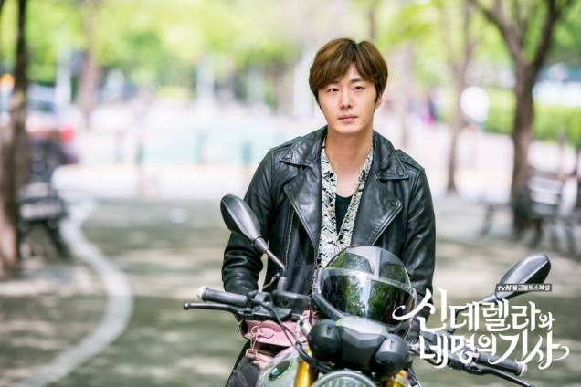 2016 Jung Il-woo in Cinderella and the Four Knights. Behind the Scenes. Extras. Cr. tvN 7
