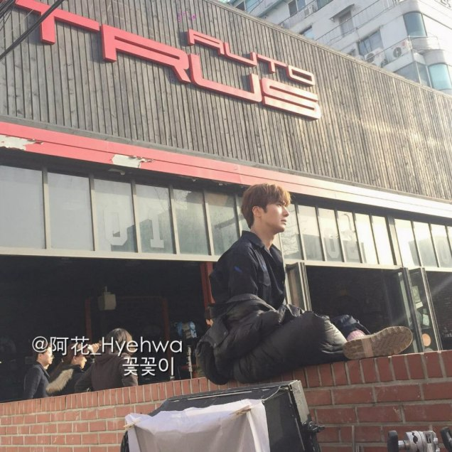 2016 Jung Il-woo in Cinderella and the Four Knights. Behind the Scenes. Fans. Cr. tvN 13