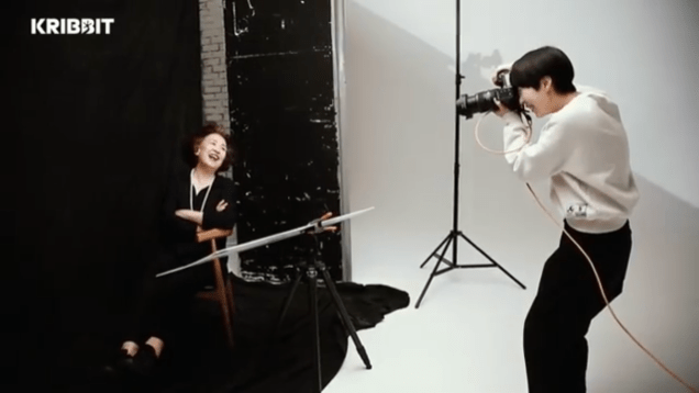 2018 3 19 Jung Il-woo and Na Mun-hee in Kribbit's photo shoot. 7