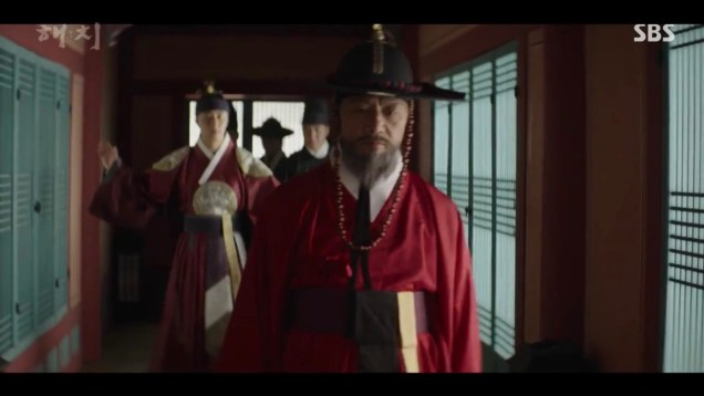 Jung Il-woo in Haechi Episode 22 (43-44) Cr. SBS 12