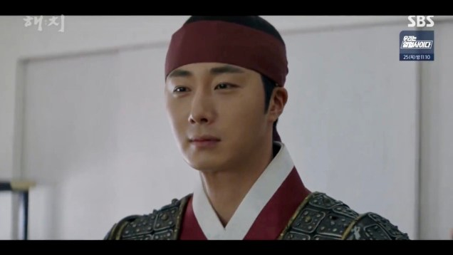 Jung Il-woo in Haechi Episode 22 (43-44) Cr. SBS 48