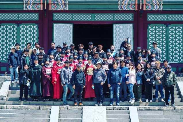 Jung Il-woo In Haechi Episode 24 (47-48) Website Photos. Behind the Scenes. Cr.SBS. 2