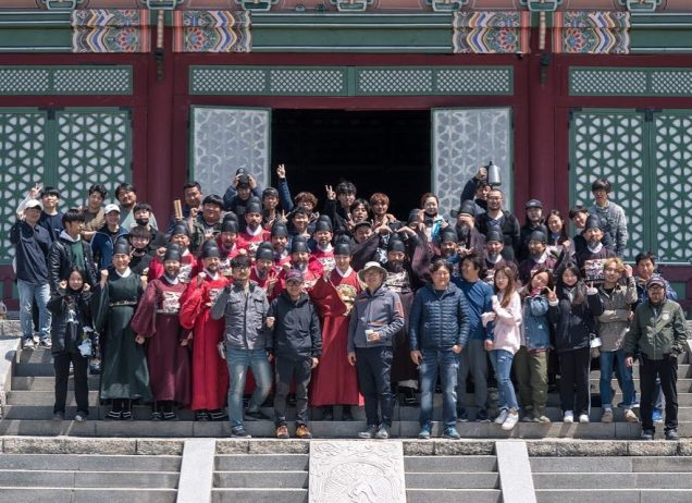 Jung Il-woo In Haechi Episode 24 (47-48) Website Photos. Behind the Scenes. Cr.SBS. 5