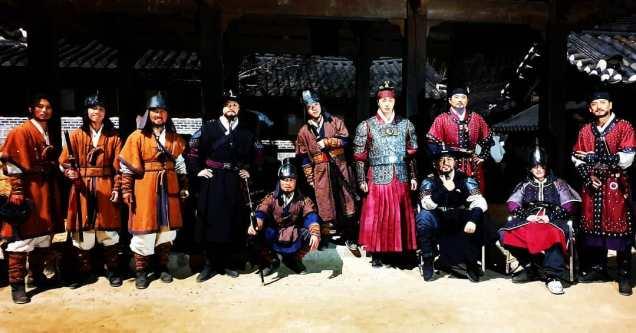 Jung Il-woo In Haechi Episode 24 (47-48) Website Photos. Behind the Scenes. Cr.SBS. 6