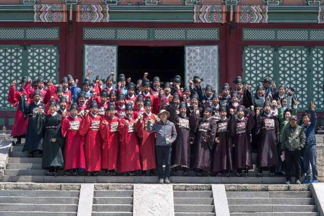 Jung Il-woo In Haechi Episode 24 (47-48) Website Photos. Behind the Scenes. Cr.SBS. 9