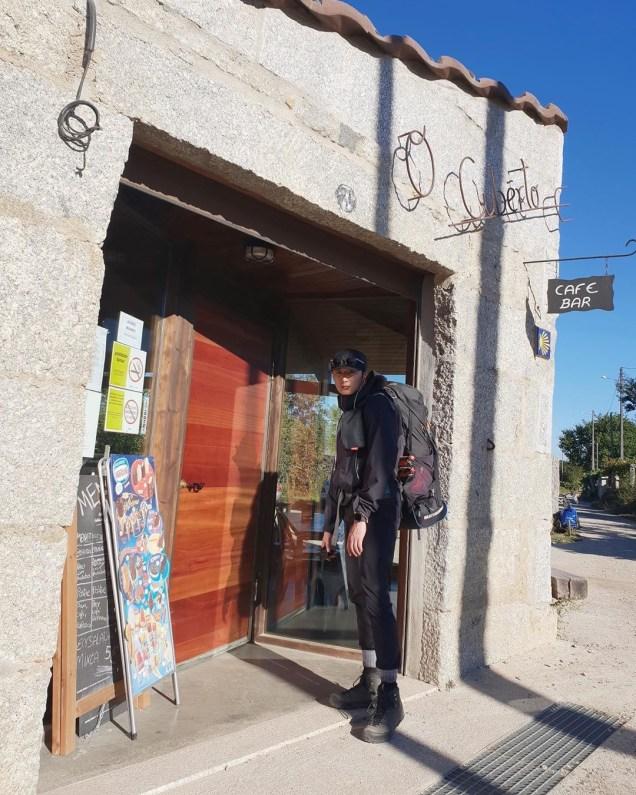 Jung Il-woo walking El Camino de Santiago. May 2019 21