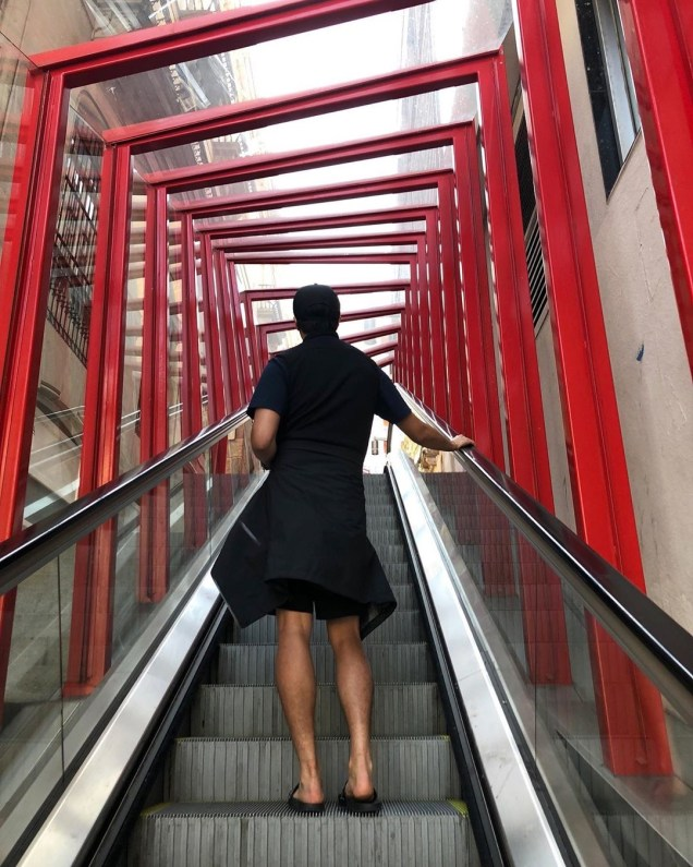 Jung Il-woo walking El Camino de Santiago. May 2019 23