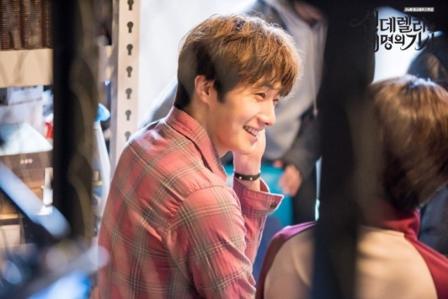 2016 8 19 Jung Il-woo in Cinderella and the Four Knights. Episode 3. Behind the Scenes. Cr. Various. 1