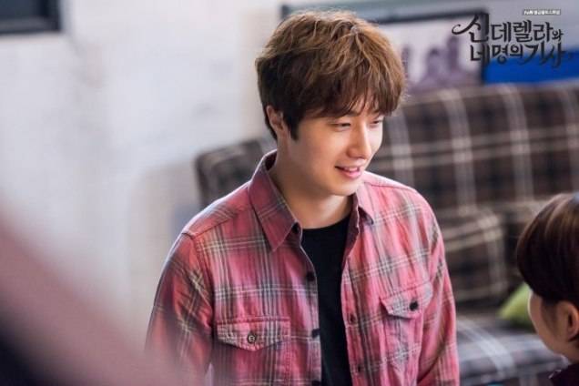 2016 8 19 Jung Il-woo in Cinderella and the Four Knights. Episode 3. Behind the Scenes. Cr. Various. 16