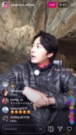 2019-6-25 Jung Il-woo live from Gangwon-do, South Korea for KBS. 4