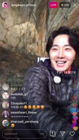 2019-6-25 Jung Il-woo live from Gangwon-do, South Korea for KBS. 48
