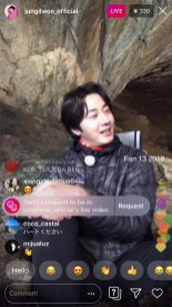 2019-6-25 Jung Il-woo live from Gangwon-do, South Korea for KBS. 63