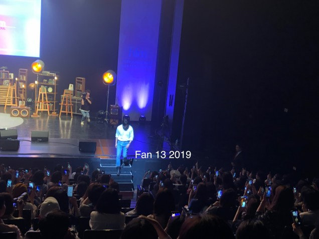 2019 6 8. At Jung Il-woo's Fan Meeting in Seoul. By Fan 13. 00041.JPG