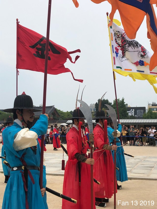 2019 6 9 The Change of the Guard at Gyeongbokgung Palace. By Fan 131