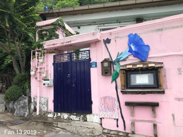 2019 8 10 Ihwa Mural Village in Seoul. By Fan 13. 14