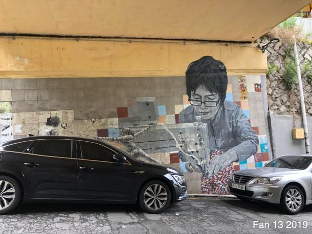 2019 8 10 Ihwa Mural Village in Seoul. By Fan 13. 6