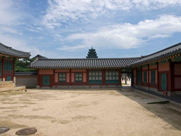 Donggung in Gyeongbokgung Palace