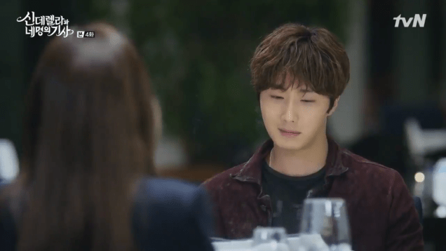 Jung Il-woo in Cinderella and the Four Knights. Episode 4. Cr. tvN Screen Captures by Fan 13. 60