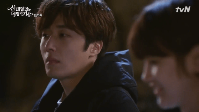 Jung Il-woo in Cinderella and the Four Knights. Episode 5. Cr. tvN Screen Captures by Fan 13. 100