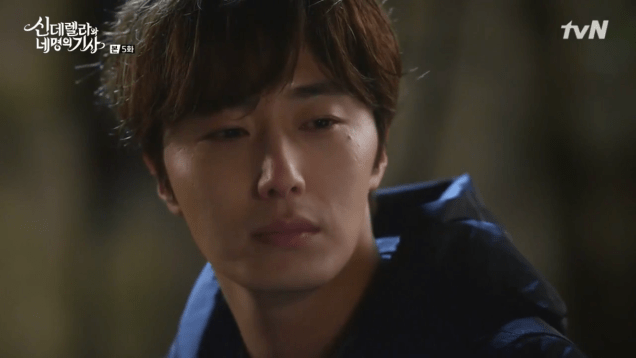 Jung Il-woo in Cinderella and the Four Knights. Episode 5. Cr. tvN Screen Captures by Fan 13. 104
