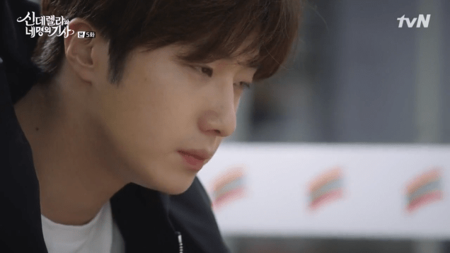 Jung Il-woo in Cinderella and the Four Knights. Episode 5. Cr. tvN Screen Captures by Fan 13. 119
