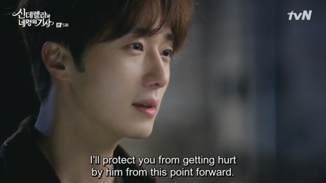 Jung Il-woo in Cinderella and the Four Knights. Episode 5. Cr. tvN Screen Captures by Fan 13. 9