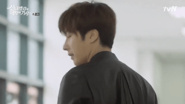 Jung Il-woo in Cinderella and the Four Knights. Episode 6. Cr. tvN Screen Captures by Fan 13. 29