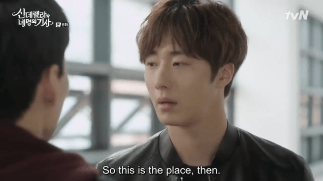 Jung Il-woo in Cinderella and the Four Knights. Episode 6. Cr. tvN Screen Captures by Fan 13. 38