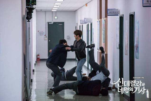 Jung Il-woo in Cinderella and the Four Knights. Episode 6. Cr. tvN Website Photos. 6