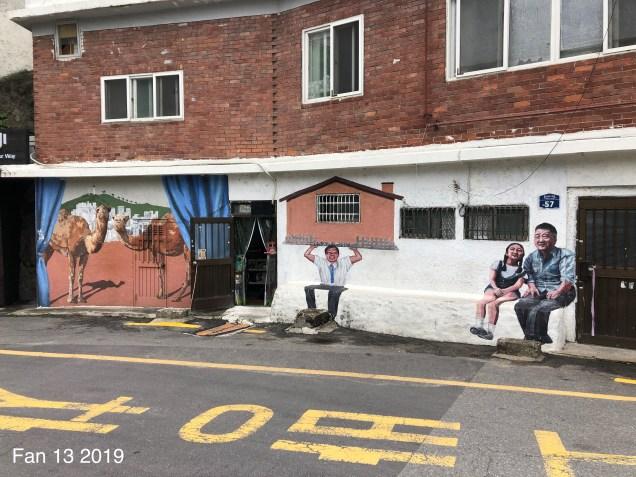 2019 8 10 Ihwa Mural Village in Seoul. By Fan 13. 14.5