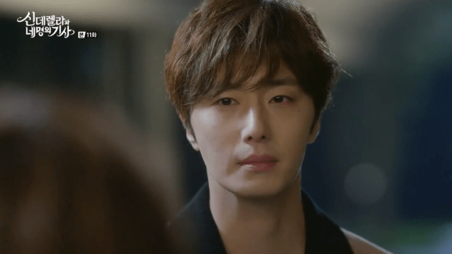 2016 9 16. Jung Il-woo in Cinderella and the Four Knights Episode 11. Cr. KBS. 3