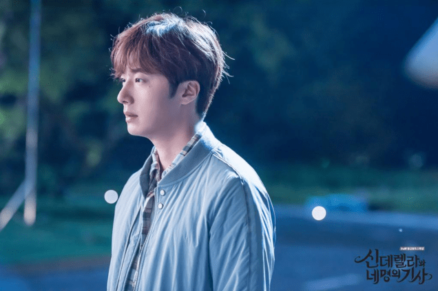 2016 9 17. Jung Il-woo in Cinderella and the Four Knights Episode 12. Cr. KBS. Website Photos. 2