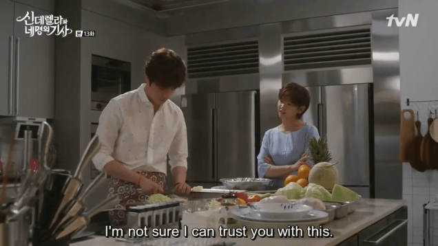 2016 9 23. Jung Il-woo in Cinderella and the Four Knights Episode 13. Cr. tvN. 31