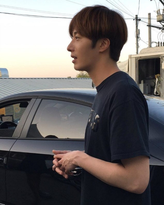 2016 9 23. Jung Il-woo in Cinderella and the Four Knights. Cr. Fans, on photos. Black Shirt 7